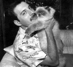 Fredy with Cat