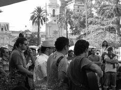 Cuequeros. Plaza de Armas, Santiago.