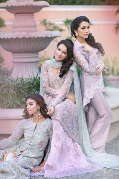 """""""Farah Talib Aziz have recently launched The Farah Talib Aziz Bride customised couture collection that features a range of festive wedding wear designed…"""" Pakistani Couture, Indian Couture, Pakistani Outfits, Indian Outfits, Pakistani Clothing, Shalwar Kameez, Patiala, Churidar, Anarkali"""