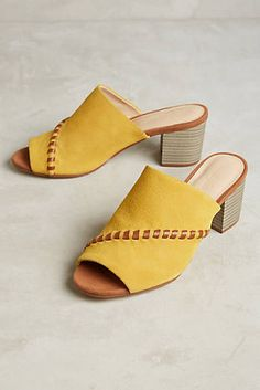 Farylrobin Color Pop Whipstitch Mules