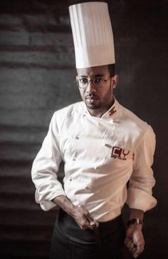 Chef Yohanis Gebreyesus Hailemariam, or chef Yohanis, the executive chef of Addis Ababa's Antica Restaurant and Bar.
