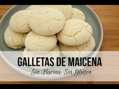 Galletas de Maicena sin harina - YouTube Celiac Recipes, Cooking Recipes, Lactose Free, Vegan Gluten Free, Panamanian Food, Mexican Cookies, Gluten Free Bakery, Post Workout Food, Sweets Cake