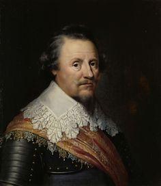 Wybrand de Geest (I), Portret van Ernst Casimir I (1573-1632), graaf van Nassau-Dietz, 1633 - Rijksmuseum Amsterdam