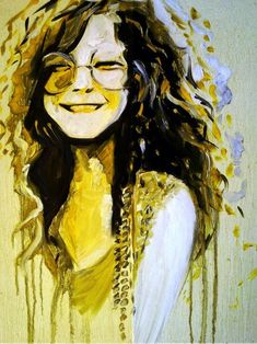 Janis Joplin by Acp-92  Honestly not a huge Janis fan, but this print /artwork makes me smile ! LOVE it!