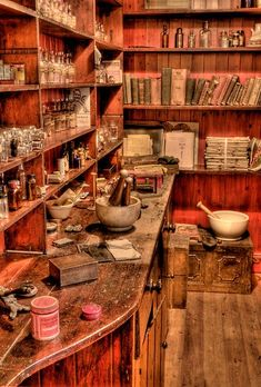 For decades the #apothecary was where people went to be healed. Its where Wise Men and #WiseWomen kept their #herbs and practiced their skills. Today many of us do not have a place to create our own ...