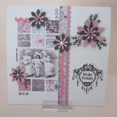 Kerst 2013   Achtergrondpapier ontworpen speciaal voor deze kaarten door JetDesign54.