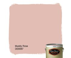 Dunn-Edwards Paints paint color: Muddy Rose DE6087 | Click for a free color sample #DunnEdwards