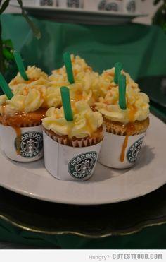 starbucks caramel macchiato cupcake