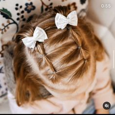 Easy Toddler Hairstyles, Cute Little Girl Hairstyles, Baby Girl Hairstyles, Princess Hairstyles, Girl Hair Dos, Leila, Hair And Nails, Piercings, Hair Beauty