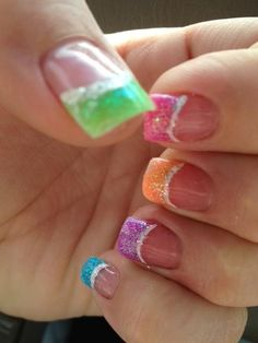 SpRiNg Nails | See more at http://www.nailsss.com/colorful-nail-designs/2/