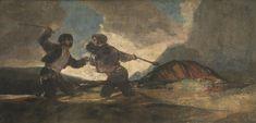 Goya en El Prado: Duelo a garrotazos