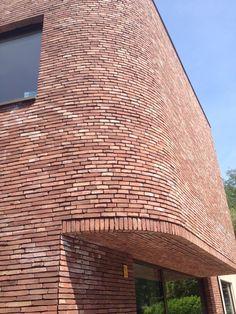Irma Architecten Project Mc, Amsterdam School, Brick Art, Brick Architecture, Brick Facade, Brick Block, Facade Design, Skyscraper, Multi Story Building