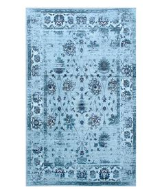 Love this Turquoise Tosha Rug on #zulily! #zulilyfinds