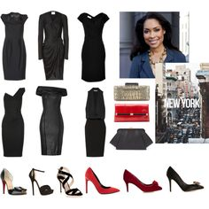 Jessica Pearson's Little Black Dress Collection - Looks inspired by Suits (USA Network) ft. Gina Torres
