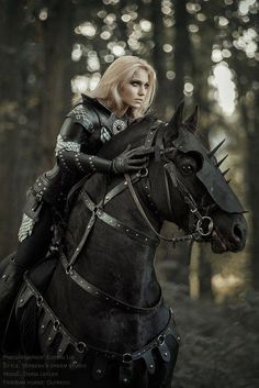 Black Knight - Fortnite about you searching for. Fantasy Characters, Female Characters, Daenerys Targaryen Dress, Half Elf, Arte Equina, Medieval Horse, Horse Armor, Knight On Horse, Warrior Girl