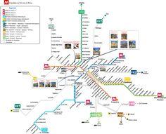 Χάρτης Μετρό & Bus