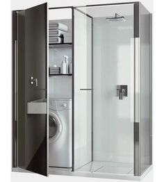 Vismaravetro's Shower and Washer in One