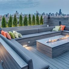 Contemporary Deck by PITCH Concepts