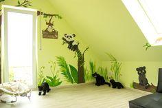 Perfekt Wandgestaltung Kinderzimmer Junge Selber Machen