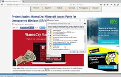 Prevent WannaCry Attacks with This Feature Switch on Windows7, Windows8 and Windows 10.