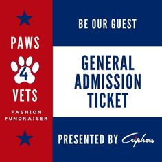 General Admission Tickets Receive: A General Admission Gift Bag Theatre style seating An array of complementary light bites