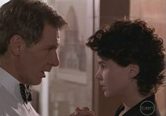 "1995 ""Sabrina"".  Harrison Ford and Julia Ormond."
