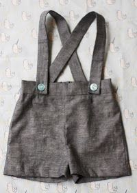 CraftingZuzzy: Baby Suspender Shorts Tutorial and Pattern