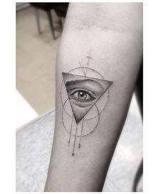 Geometric eye triangle Dr. Woo