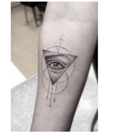 Geometric eye triangle Dr. Woo