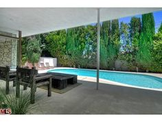 Sherman Oaks Pool With Flipped Mid-Mod, Too