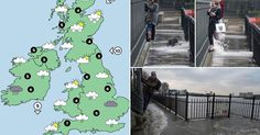 Severe weather warnings have been issued for the weekend and there's more wintry weather next week