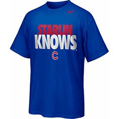 """Chicago Cubs Starlin Castro """"Starlin Knows"""" T-Shirt"""