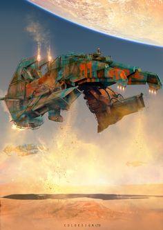ArtStation - Sand dredger, col price