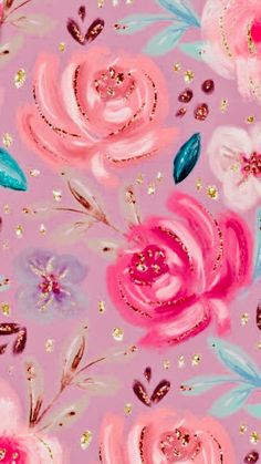 Ideas For Wallpaper Flowers Phone Backgrounds Gift Wrapper Top Iphone Wallpapers, Glitter Wallpaper Iphone, Pink Wallpaper Backgrounds, Flower Phone Wallpaper, Trendy Wallpaper, Pretty Wallpapers, Cellphone Wallpaper, Cool Wallpaper, Pattern Wallpaper
