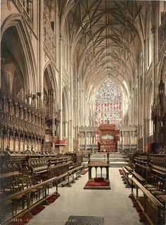 York Minster choir, England - Majestic and awe inspiring Cathedrals for the glory of God throughout the earth. http://www.PaulFDavis.com/spiritual-teacher for God's glory, honor, power, love and wisdom to work miracles, signs and wonders in the earth. (info@PaulFDavis.com) author of 'Supernatural Fire', 'Waves of God,' 'God vs. Religion,' and 'Breakthrough For A Broken Heart.' www.Facebook.com/speakers4inspiration www.Twitter.com/PaulFDavis www.Linkedin.com/in/worldproperties