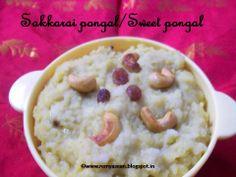 Remmy's Kitchen: sakkarai pongal/Sweet pongal