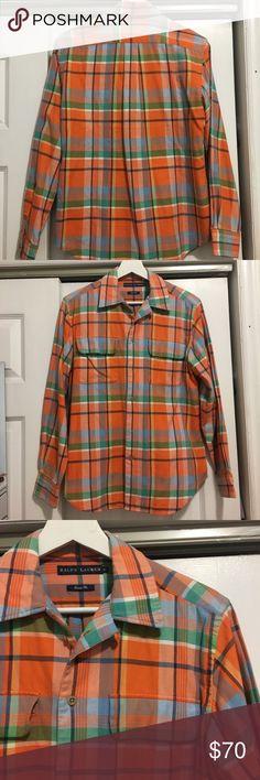 Ralph Lauren shirt Classic fit Ralph Lauren flannel shirt, with front pockets. No signs of use. Ralph Lauren Tops Button Down Shirts