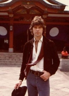 Robbie Robertson in Japan on a press tour for The Last Waltz.
