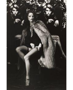 Charlotte Rampling, Paris, 1982 © Helmut Newton Estate  Collection Maison…