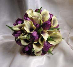 Purple flowers.......one day.