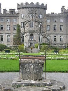 Stayed in Markree Castle, Sligo, Ireland Really could get used to it. I would pass on the kippers next time.