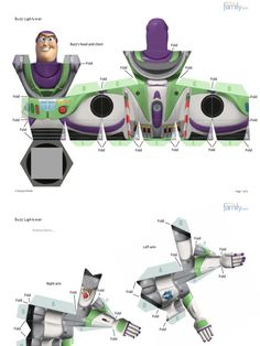 Buzz Lightyear, Paper Toys, Paper Crafts, Imprimibles Toy Story Gratis, Festa Toy Store, Toy Story Crafts, Superhero Memes, Toy Story Party, Geek Girls
