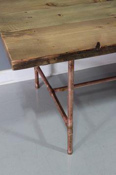 reclaimed wood dining table | Handmade Custom Reclaimed Wood ...