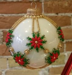 Snowflower Ornament