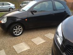 My First Car A Black Ford Ka And The Licence Plate Has Oush In It