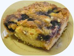 BIZZY BAKES: Blueberry Muffin Streusel Cake