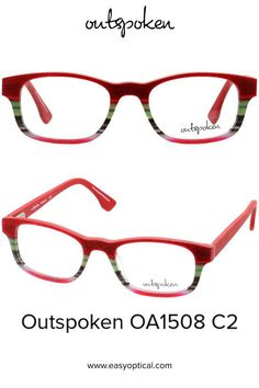 OUTSPOKEN OA1508 C2 Eyewear, Ray Bans, Glasses, Easy, Handmade, Style, Swag, Eyeglasses, Eyeglasses