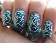 mosaic nails!