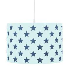Kinderlampe Scandic Sterne blau
