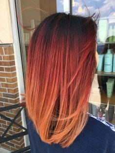 I capelli rossi